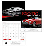 Exotic Sports Cars Wall Calendars